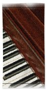 Piano Keys Bath Towel