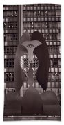Picasso Chicago Bw Hand Towel
