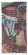Picasso Inspired Hand Towel