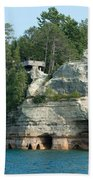 Pictured Rocks Bath Towel