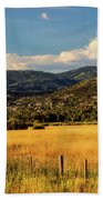 Picturesque View Of Steamboat Springs Colorado Bath Towel