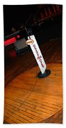 Piece Of The Original Old Stage At The Grand Ole Opry In Nashville Hand Towel
