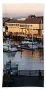 Pier 39 In The Sunshine Bath Towel