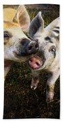 Piggy Love Bath Towel