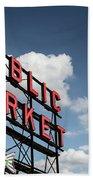Pike Place Market Bath Towel by Ed Clark