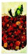 Pinatamiche Painting Crackle Art Bath Towel