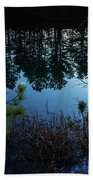 Pine Barren Reflections Bath Towel