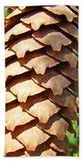 Pine Cone Art Prints Pine Tree Artwork Baslee Troutman Bath Towel