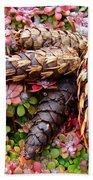 Pine Cones Art Print Botanical Garden Baslee Troutman Bath Towel