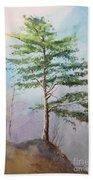 Pine Tree Bath Towel