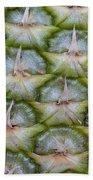 Pineapple Close-up Bath Towel