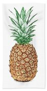 Pineapple Pencil Bath Towel