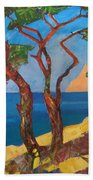 Pines Of The Silver Beach Hand Towel