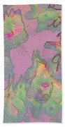 Pink Aquarium Bath Towel