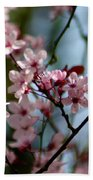 Pink Blossoms Bath Towel