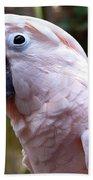 Pink Cockatoo Bath Towel