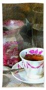 Pink For Tea Bath Towel