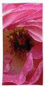 Pink Petals Bath Towel