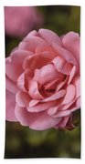 Pink Rose Instagram Bath Towel