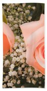 Pink Roses Fine Art Photography Print Hand Towel