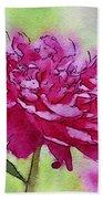 Pink Ruffles Bath Towel