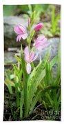 Pink Spring Bulb Bath Towel
