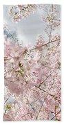 Pink Spring Bath Towel