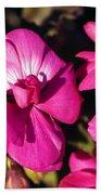 Pink Spring Florals Bath Towel