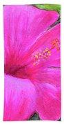 Pinkhawaii Hibiscus #505 Hand Towel