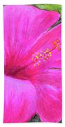 Pinkhawaii Hibiscus #505 Bath Towel