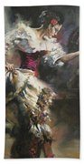 Pino D'angelico's The Dancer Bath Towel