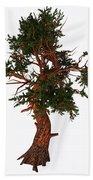 Pinus Aristata Tree Bath Towel