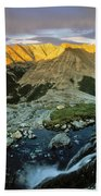 Pioneer Mountains Bath Towel