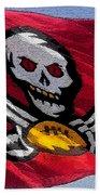Pirate Football Bath Towel
