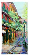 Pirates Alley - French Quarter Alley Bath Towel