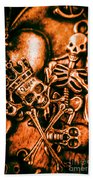 Pirates Treasure Box Hand Towel