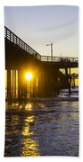 Pismo Beach Pier  Bath Towel