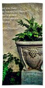 Pissarro Inspirational Quote Bath Towel
