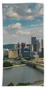 Pittsburg Skyline Bath Towel