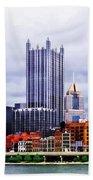 Pittsburgh Pa Skyline Hand Towel