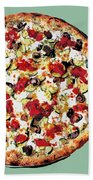 Pizza - The Guido Special Bath Towel