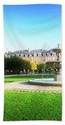 Place De Vosges, Paris Bath Towel