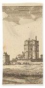 Plan General Du Chasteau Et Petit Parc De Vincennes Bath Towel