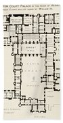 Plan Of Principal Floor Of Hampton Bath Towel