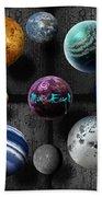 Planets Bath Towel