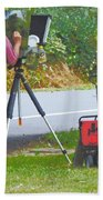 Plein Air L'automne Bath Towel