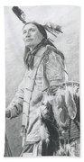 Taopi Ota - Lakota Sioux Bath Sheet by Brandy Woods