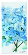 Plumbago Bath Towel