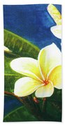 Plumeria Flower # 140 Bath Towel