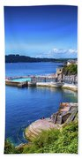Plymouth Foreshore Hand Towel